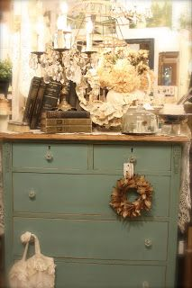 PROVENCE the vintage bricoleur: More Examples of Pieces Done in Annie Sloan Chalk Paint® at TVB
