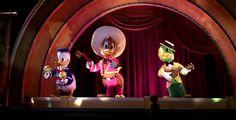 After 35 Years, Historic Three Caballeros Figures Return to Walt Disney World Resort