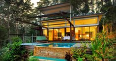 Crystal Creek Rainforest Retreat in Queensland; I would absolutely love to find myself here one day.