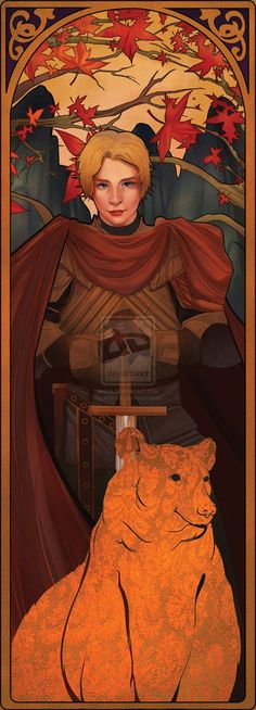 Game of Thrones - BRIENNE: AUTUMN by AkiiRaii