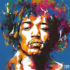The contemporary artwork Jimi Hendrix 3 is a modern painting from the artist Dadao. This is a contemporary painting, unique and originale, Pop art style. Modern Painting, Contemporary Artwork, Contemporary Artists, Pop Art, Jimi Hendrix, Art En Ligne, Purple Rain, Online Gallery, Custom Art