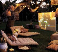 outdoor coziness