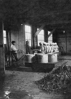 Centrale keuken van de gemeente Breda, einde eerste wereld oorlog 1918