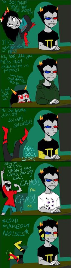 Sollux is having none of your shit, Latula.<<<lmao I love this so much