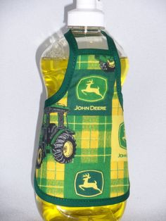 John Deere Country Decor Dish Soap Bottle Apron Small Cozy Home