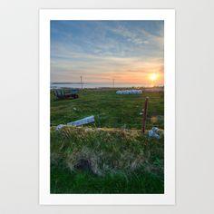 Irish Sunset Art Print by Peter Murphy - $18.00