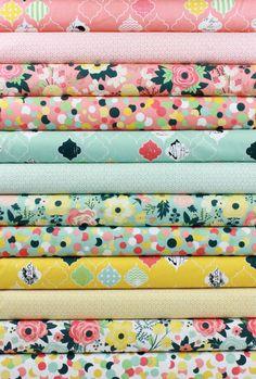 Fancy Pants Designs for Riley Blake, Fancy & Fabulous in FAT QUARTERS 12 Total
