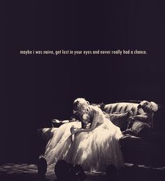 This song didn't make sense until now. I was fooled. White horse Taylor swift