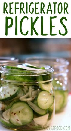 These were so easy to make! Garlic Dill Refrigerator Pickles Recipe