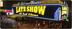 Wade and I saw a taping of the Late Show with David Letterman (guests were Samuel L. Jackson and Jennifer Hudson) in 2011.