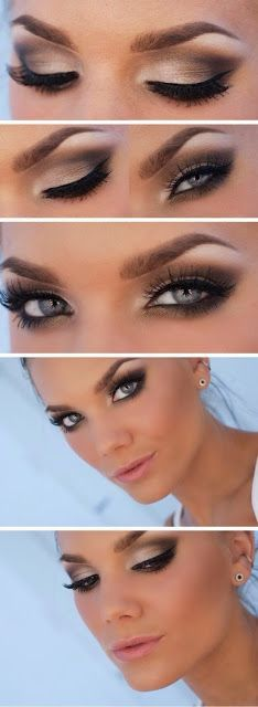 Hot smokey eyes