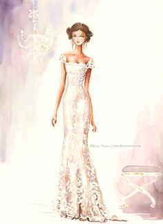 Hochzeit Hochzeit Illustration Kunst Custom speichern von Reani