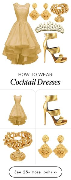 """Untitled #700"" by michelle-burns-steed on Polyvore featuring Mia Limited Edition, Chanel and Versace"