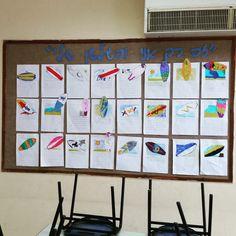 """חינוך יצירתי - נעמה מאירי מקוב: """"זה רק אני והגלשן שלי"""" פעילות כתיבה ליום שרבי"""