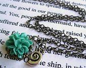 The Little Mermaid Dinglehopper Necklace. $18.50, via Etsy.