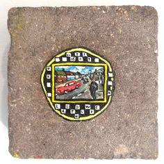 View contemporary artists showcasing art exhibitions of their original art and limited edition artwork at RHODES, London. Ben Wilson, Chewing Gum, Enamel Paint, Weird Art, Contemporary Artists, Brick, Original Art, Art Prints, Gallery