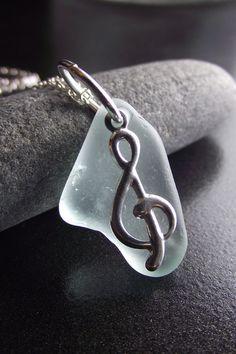 Sea Glass Necklace  Beach Glass Jewelry
