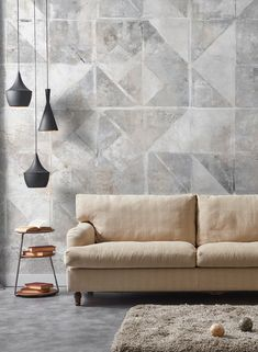 Carta da parati / Wall paper: TINTAGEL #Tecnografica #ItalianWallcoverings #cartadaparati #wallpaper #wallpapers #arredamentodinterni #interiordesign #design #moderna #ideas #modern #geometrica #geometric #mural #shabby #vintage #affresco #fresco #soggiorno #livingroom