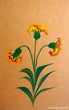 Ebru Art, Turkish Art, Colouring, Tulips, Drawings, Pictures, Painting, Color, Sketches