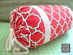 Tutorial - How to Sew a Bolster Pillow in Less than 3 Hours : SimplyLinen