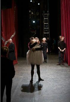 Alina Cojocaru and Johan Kobborg when he proposed.