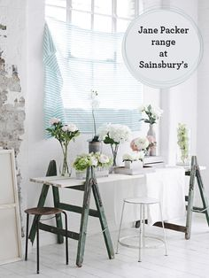 Jane Packer faux flower range at Sainsbury's