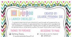 LuLaRoe Launch Checklist.pdf