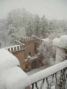 Castello di Galeazza near Bologna, Italy.
