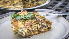 This Turkey, Bacon and Mushroom Quiche Recipe Realtree Camo is a better for our Breakfast made with wholesome ingredients! Quiche Recipes, Bacon Recipes, Double Smoked Bacon Recipe, Wild Turkey, Turkey Bacon, Mushroom Quiche, Homemade Pie Crusts, Stuffed Mushrooms, Stuffed Peppers