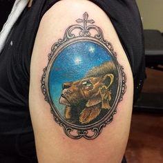 Aslan | 31 tatuagens de babar para os amantes de livros de aventuras fantásticas