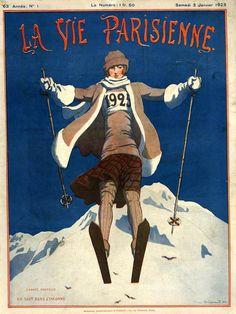 Pierre Brissaud (1885 – 1964). La Vie Parisienne, 3 Janvier 1925. [Pinned 19-iii-2015]