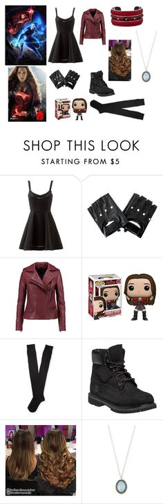"""""""scarlet witch"""" by haroldo-123 ❤ liked on Polyvore featuring Quiksilver, Olsen, Elizabeth and James, MuuBaa, Aéropostale, Timberland, Armenta, Tod's, women's clothing and women"""