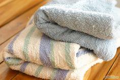 Come rendere più assorbenti gli asciugamani nuovi