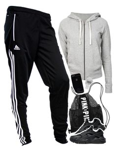 """""""ootdizzle pt 2"""" by daisym0nste ❤ liked on Polyvore featuring James Perse, adidas, NIKE, women's clothing, women's fashion, women, female, woman, misses and juniors"""