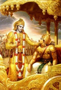 """Commitment and Freedom: Same or Different? - Blog - In the Bhagavad Gita Krishna (who symbolizes God) tells Arjuna (who symbolizes fiery self-control), """"What you relinquish on the material plane you will rediscover a thousand times more wonderfully in God.""""  Click on image to read more and understand more."""