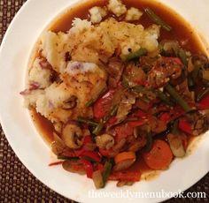 Chicken Stew with Mashies #glutenfree #caseinfree