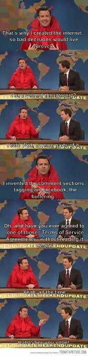 Snl...oh tht was so funny