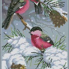 Etamin Şablonları Kuş Desenleri 37