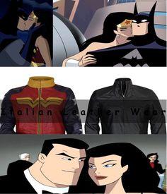 Batman WonderWomen Valentine Gift Couple Cosplay Costumes For Men & Women Unisex