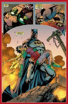 """""""A death in the family.""""  Batman Annual #5"""