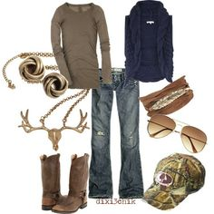 .this is actually pretty cute good for deer season I can shop in style while he hunts lol
