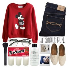 """""""Independence Day // For @f-lowercrown (2/10)"""" by raelee-xoxo ❤ liked on Polyvore featuring Abercrombie & Fitch, Chloé, TOMS, philosophy, Casa Couture, NARS Cosmetics, raeleespenguin, amberzoelookhere and TalisLittleTag"""