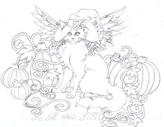 Halloween Kitty::WIP by Suki-Belle.deviantart.com on @DeviantArt
