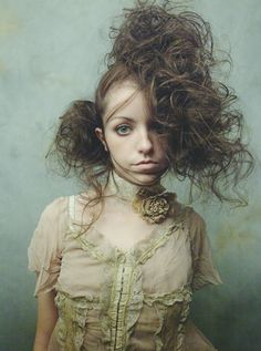 Bad Hair Day, Big Hair, Creative Hairstyles, Up Hairstyles, Avant Garde Hair, Editorial Hair, Fantasy Hair, Hair Shows, Jolie Photo