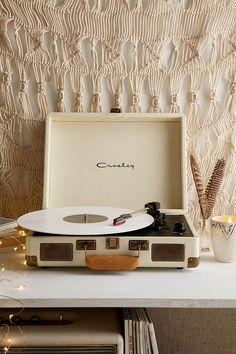 Tragbarer Schallplattenspieler