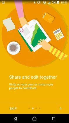 Google docs app illustration