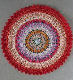 "Free pattern for ""Rosetta Mandala/Circle""!"