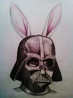 Happy Easter, Love Darth x by jennasartwork.deviantart.com on @DeviantArt