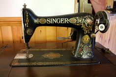 I wish sewing machines still looked this cool