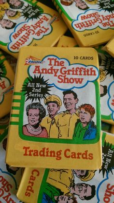 1 Pack The Andy Griffith Show Vintage Trading Cards Wax Pack TV Show RARE Photos 2nd Series